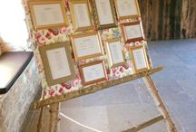 Seating Charts & Escort Card Displays / Help your wedding or event guests find their table in style with these seating charts, and place card, escort card displays.