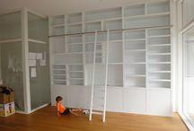 Boekenkast inbouw