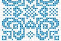 Cross Stitch Biscornu