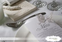 Menus (Pistachio Designs) / http://www.pistachiodesigns.co.za/stationery/