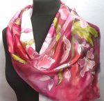 Silk paintig & malování na hedvábí