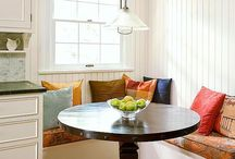 Residental Inspiration / See if you get any ideas of where you would like to add your banquette.