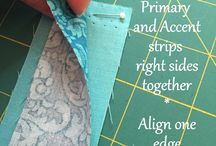 binding with two colours