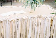 Table decorating / by Pink Polka