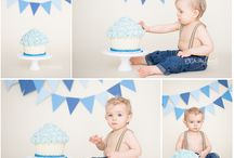 Boy Cake Smash Idea