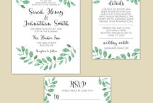 My Designs - Invitations & Save the Dates / My design work - Mariaddesigns.com