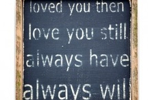 romantic sayings / by Jacqueline Bentley