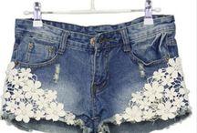 Dámské kraťasy   Women's shorts