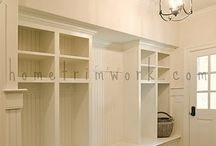 Nooks and Mudrooms / Breakfast nook areas and mudrooms