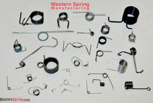 Torison Springs / Steel wire torsion springs for product & industry. A sampling of precision torsion springs produced by the craftsmen at Western Spring Manufacturing.