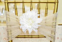 Chair Decoration / Ideas for decorating wedding chairs.