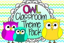 Owl Theme for School / by Cayleen Thorlaksen