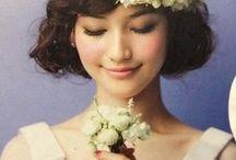 花冠ヘアスタイル