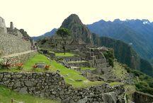 MACHU PICCHU PERU / by Abigail alesandra