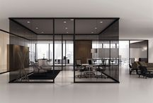 Glass Partitions, Feature wall