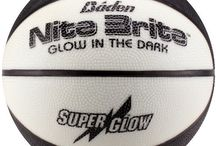 Baden Nite Brite Official 28.5-Inch Glow in the Dark Rubber Basketball