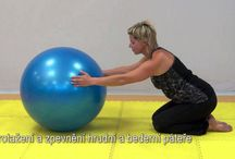 cvičenie na chrbát
