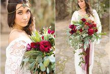 образ невесты бохо