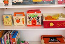 Kids Interiors Inspiration / retro interior ideas for a kids room