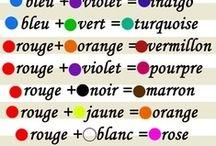 mélange couleurs