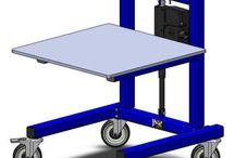 Industrial Carts - LTW Ergonomic Solutions / LTW's E1 Cart can make Material Handling in your plant as easy as using a shopping cart! Get your ergonomic on! #GetYourErgonomicOn