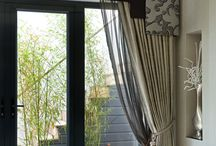 Window Treatments / Window treatments, fabrics and schemes