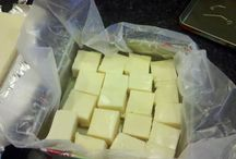 White choc n lemon fudge