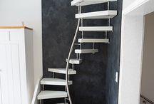 Dachboden treppe