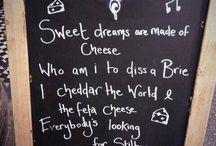 Over kaas gesproken / Alles wat met kaas te maken heeft vinden we leuk! Te leuk om voor ons zelf te houden...