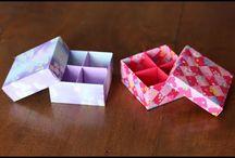 Коробочка / Оригами