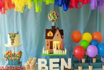 "Disney's ""Up"" Themed Party"
