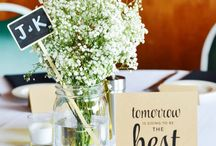 Rehearsal Dinner Ideas / Our favorite rehearsal dinner ideas