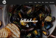 Food Website Templates / Food related website designs with CMS. Easy-to-use, functional, beautiful, fast. http://www.motocms.com/website-templates/search/motocms-3-templates/category/cafe-and-restaurant/