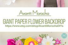 Papirowe kwiaty