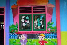 lukis mural
