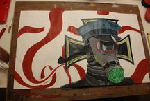 Animation Portfolio / This is a folder containing all my work towards my AH Art folio