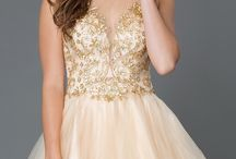 Sweet 16 - Bold with Gold / Do YOU want to have a Sweet 16 that everyone will remember? Check out these bold with gold dresses as well as inspiration for party essentials you will need to have the best night ever!