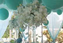 Teal Blue Weddings
