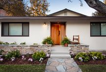 Stanford Home Remodel / Remodel of Stanford home, including exterior, family room, kitchen, bedrooms and bathrooms.