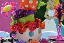 Alice in Wonderland & Mad Hatters Tea Parties - children and adults