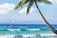quadri spiaggia