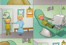 Logische volgorde tandarts