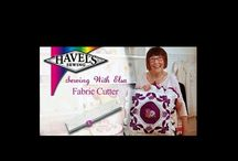 FREE Tutorial Videos by Elsa / Learn techniques and tips on sewing with the best tools from Havel's Sewing. / by Havel's Sewing