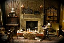 For Meagan's Holmes Inspired Room / by Michelle Stinson Ross