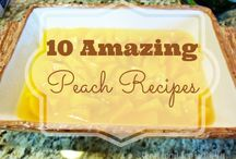 Peach recipes / by Jackie Bolen