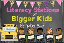 Literacy Stations (3-5) / by Mindy Galvan