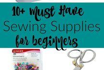 Beginner machine sewing
