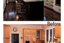 ANTES E DEPOIS DECORAÇÃO/ BEFORE AND AFTER INTERIOR DESIGN/ / Imagens do antes e depois na decoração