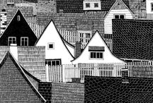 ILLUSTRATION / lots of architectural drawings & other lovely illustrations