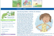 Stella Writes!  (And writes and writes!) / Anything having to do with the Stella Writes series of picture books!